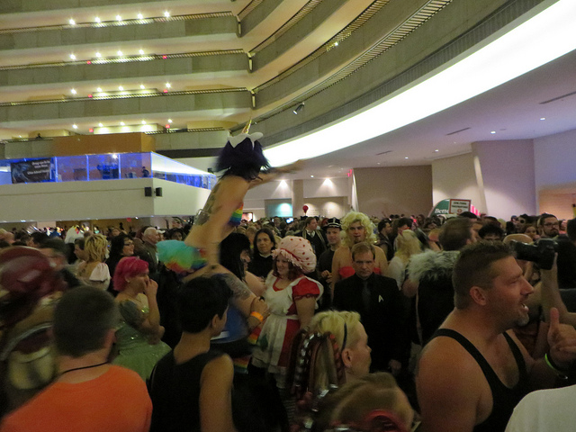 DragonCon 2013 Crowd