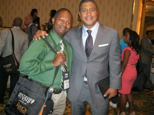 Me with Stan Verett and NABJ 2012