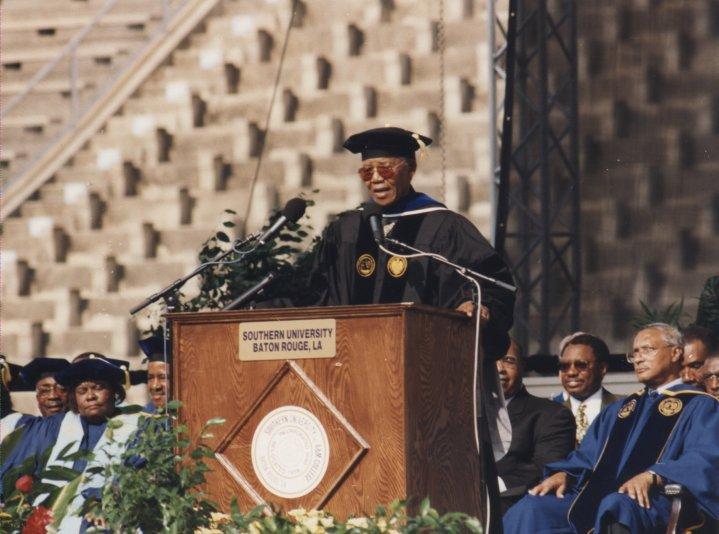 Nelson Mandela speaking