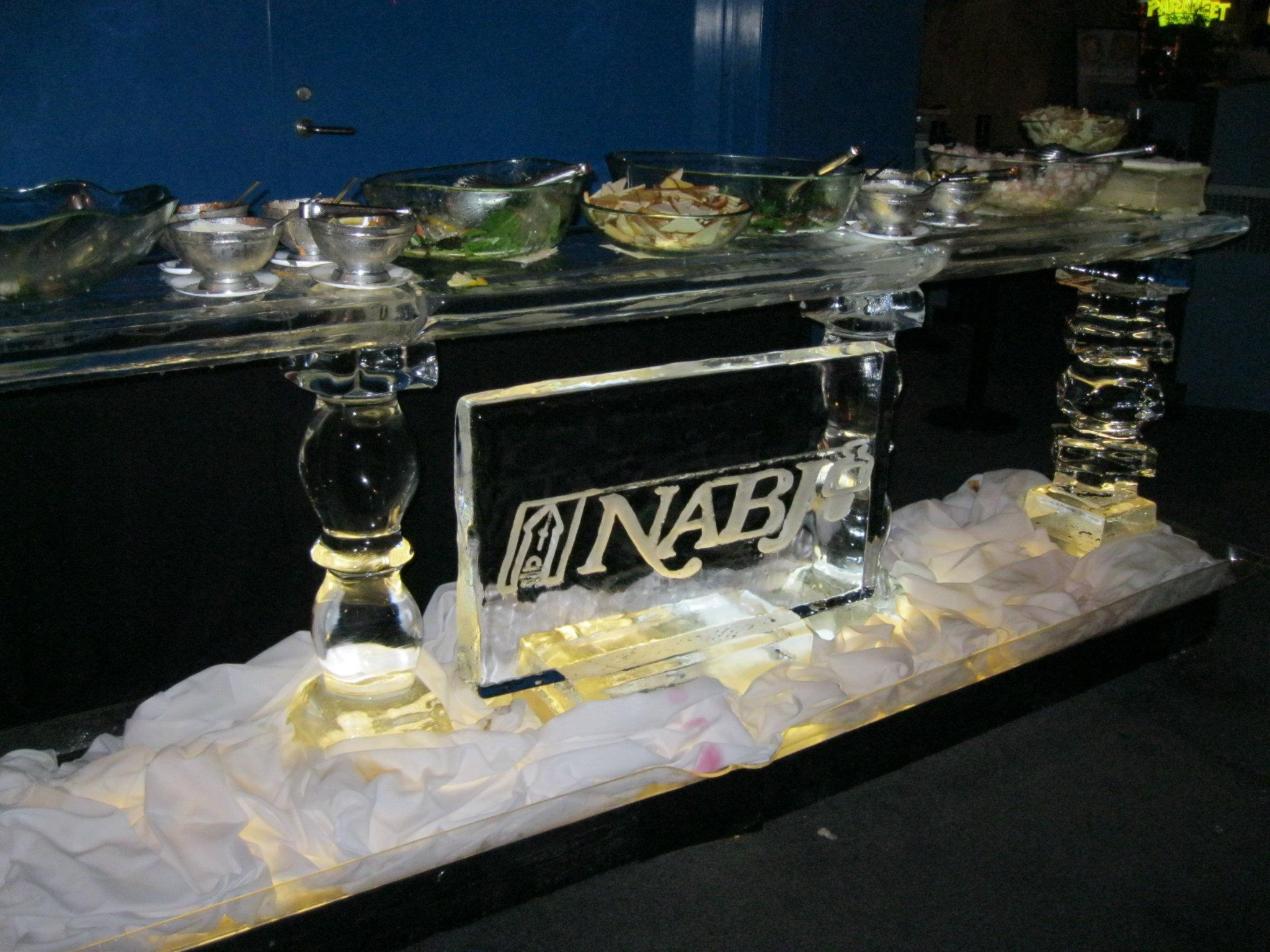 NABJ Ice Sculpture